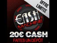 Turbo Poker : Cash Machine 20 Euro jusqu'à Samedi