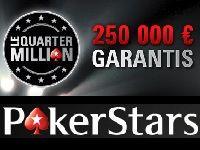 PokerStars : 250 000 Euro pour Noël avec Le Quarter Million