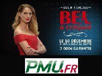 PMU Poker : Tournoi Freeroll Bounty avec Frédérique Bel