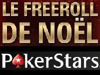 PokerStars : 10 000 Euro de cadeaux pour le Freeroll de Noël