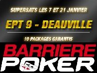 Barrière Poker : gagnez 5 Packages pour l'EPT 9 Deauville