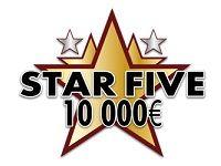 Star Five : gagnez 10 000 Euro dont un voyage sur Barrière Poker