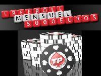 Turbo Poker : 5000 Euro de Tournois Freerolls chaque mois