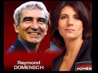 Barrière Poker : Bounty Estelle Denis avec Raymond Domenech