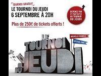 Winamax Poker : participez au Tournoi Facebook du Jeudi