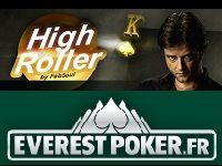 Everest Poker présente le Tournoi High Roller by Fabrice Soulier