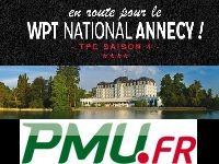 PMU Poker : participez au TPC 4 direction le WPT Annecy