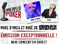 Winamax Radio : Multiplex Poker avec un concert de Sinsemilia