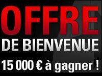 PokerStars : gagnez 15 000 Euro avec l'Offre de Bienvenue