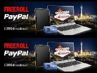 PokerStars : Freeroll Paypal avec 8000 Euro de cadeaux