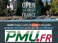 PMU Poker : gagnez des Packages Open de France à Annecy