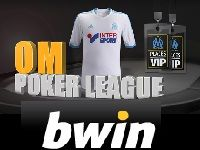 Bwin Poker inaugure aujourd'hui l'OM Poker League