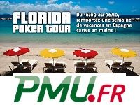 PMU Poker : participez au Florida Poker Tour sur la Costa Brava