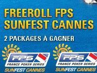 PokerStars : un Freeroll vers le FPS SunFest Cannes ?