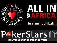 PokerStars présente le Tournoi caritatif All In For Africa
