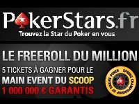 PokerStars présente son Freeroll du Million