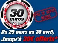 Poker : profitez des 30 Euro offerts par Barrière Poker