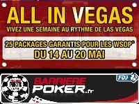 Barrière Poker : 25 Packages garantis pour les WSOP 2012