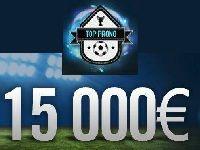 Winamax : Lim13004 gagne 15 000 Euro au Top Prono