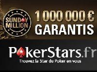 PokerStars : 1 million d'Euro à gagner le 9 Septembre