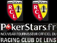 PokerStars s'associe avec le Racing Club de Lens