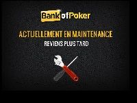 Bank of Poker en maintenance depuis un mois
