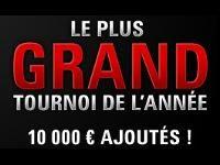 PokerStars présente Le Plus Grand Tournoi de l'Année