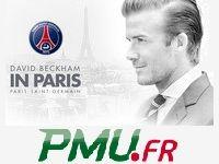 PMU Poker : 2 places près de Beckham pour PSG - Bastia ?