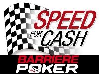 Barrière Poker : Challenge Speed For Cash jusqu'au 24 Février