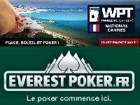 Everest Poker : ce Dimanche, gagnez un Package WPT Cannes