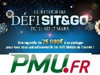 PMU Poker : 25 000 Euro pour le Retour du Défi Sit & Go