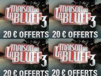 PokerStars : 20 Euro offerts avec le Bonus Maison du Bluff 3