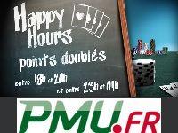 PMU Poker : boostez vos Points avec les Happy Hours