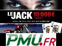 PMU Poker : 50 000 Euro par semaine pour Le Jack