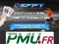 PMU Poker vous invite à l'European Football Poker Tour