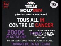 Barrière Poker : Tous All In contre le Cancer à Bordeaux