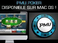 PMU Poker présente la version Mac de son Logiciel Poker