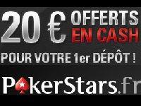 PokerStars : 20 Euro offerts en l'honneur de Rafael Nadal