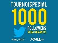 PMU Poker : Tournoi spécial Twitter doté de 500 Euro