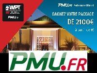 PMU Poker vous offre 11 Packages WPT National Marrakech