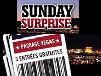 Poker : 3 tournois à Las Vegas et 2500 Euro en cash ?