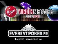 Everest Poker : ce soir, gagnez 10 Euro sur VirginMega