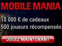 La Mobile Mania continue sur PokerStars