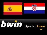Bwin Poker : de l'Euro au Poker après Croatie-Espagne ?