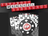 Tournois Freerolls : 5000 Euro mensuels sur Turbo Poker