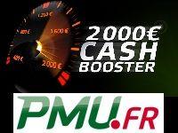 PMU Poker vous offre 2000 Euro en Cash