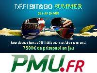 PMU Poker lance un Défi Sit & Go Spécial Summer