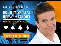 Affrontez gratuitement Hervé Mathoux sur PMU Poker