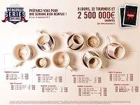 Poker : téléchargez le Calendrier des Winamax Series