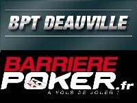 Barrière Poker : 32 Packages BPT Deauville à gagner
